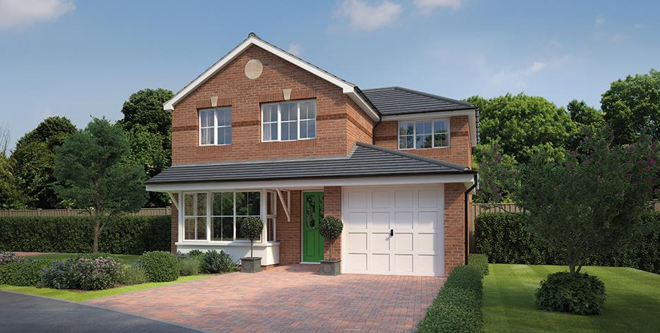 4 Bedrooms Detached House for sale in The Grosvenor, Redwood Point, Progress Way, Marton Moss